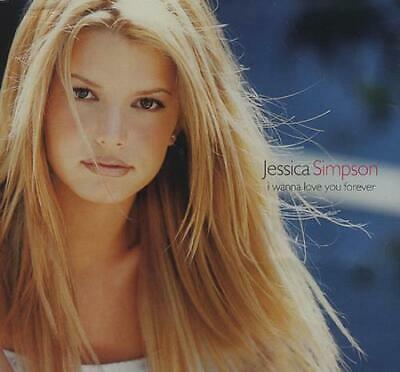 "Jessica Simpson I Wanna Love You Forever CD single (CD5 / 5"") UK 6691272"
