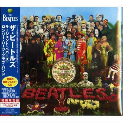 Sgt. Pepper's Lonely Hearts Club Band Beatles CD album (CDLP) Japanese