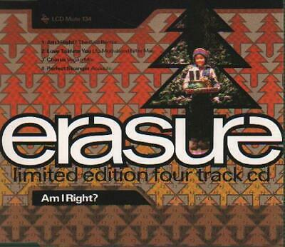 "Am I Right? - Remix Erasure CD single (CD5 / 5"") UK LCDMUTE134 MUTE 1991"