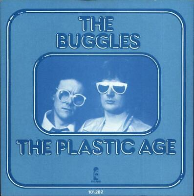 "The Plastic Age Buggles 7"" vinyl single record Dutch 101282 ISLAND 1980"