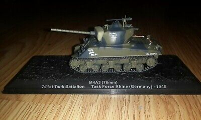 WW2 1/72 M4A3 sherman tank US army coyote painting weathering Easy