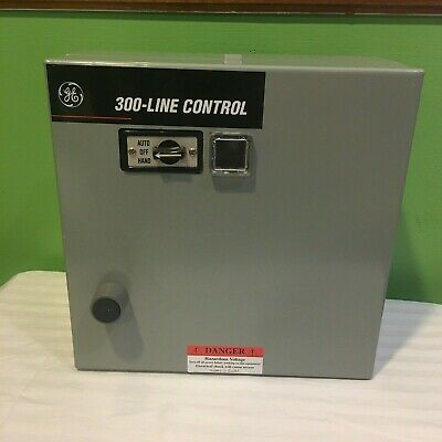 Ge 300-Line Control Magnetic Starter Transformer Enclosure Cr306C18200Xatdbc