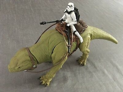 Star Wars   DEWBACK with IMPERIAL SANDTROOPER   Walmart   Legacy Collection 2009