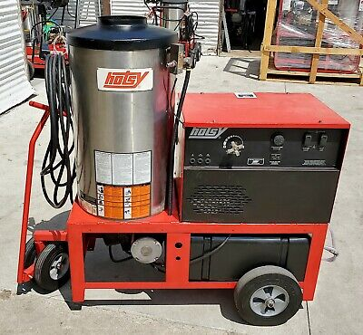 Used/Refurb Hotsy 980ss Gas Engine Hot Water Pressure Washer (SN:100666)