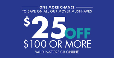 Bed Bath & Beyond $25 off $100 purchase (Online or In Store) 8/31 expiration