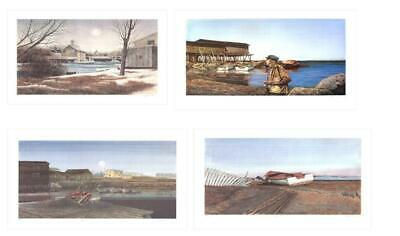 Bundle- 4 Assorted Dwight Baird Signed and Numbered Lithographs