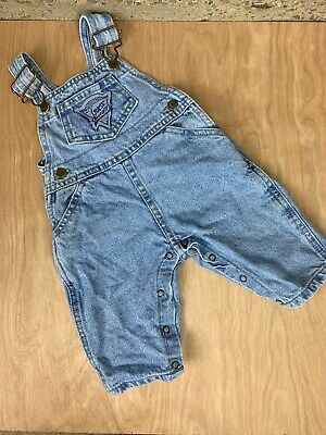 Vintage 90s Baby Guess Overalls 9m