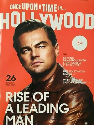 Once Upon a Time in Hollywood RARE Magazine Memorabilia DiCaprio Pitt Tarantino