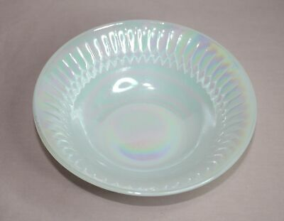Vintage  Federal Glass  White Moonglow Soup/Cereal Bowl  Heat Proof U.s.a.