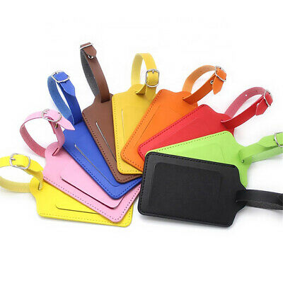 Bag Accessories ID Address Tags Suitcase Label Baggage Claim Luggage Tag