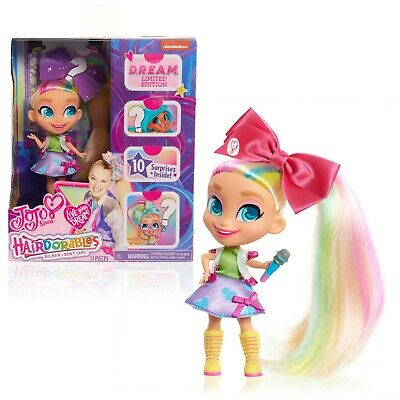 JoJo Siwa Loves Hairdorables Limited Edition Collectible Doll * Rainbow hair WOW
