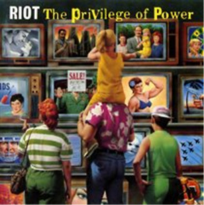 "Riot-The Privilege of Power (UK IMPORT) Vinyl / 12"" Album NEW"