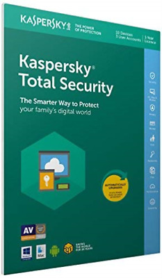 KASPERSKY-KTS 2019 10 Devices 1 Year FFP (UK IMPORT) GAME NEW