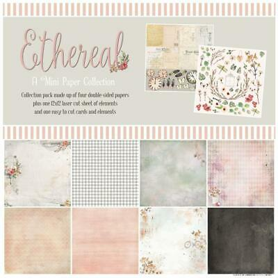 "49 And Market 'ETHEREAL' 12x12"" Mini Paper Pack Floral/Flowers/Vintage"