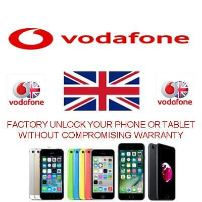 Factory Unlock Service iPhone 7 & iPhone 7 Plus For Vodafone UK - IMEI ONLY