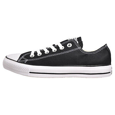 Converse Chuck Taylor All Star OX Unisex Plimsol Trainers Black