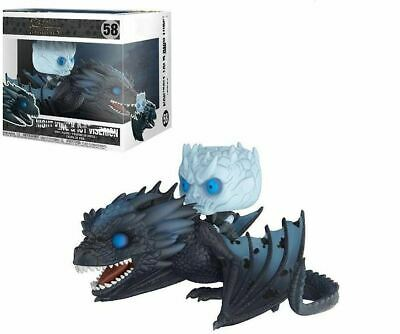 FUNKO POP 58 NIGHT KING & ICY VISERION Game Of Throne Action Figures toys