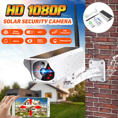 Solar IP & Smart Security Camera IP67 Wifi Night Vision Power Wireless Outdoor