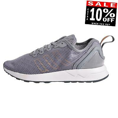 Adidas Originals ZX Flux ADV SL Junior Classic Casual Running Gym Trainers Grey