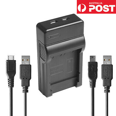Super Thin Micro and mini USB Travel Charger for Canon NB-6L NB-6LH