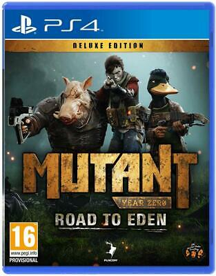 Mutant Year Zero Road to Eden | PlayStation 4 PS4 New