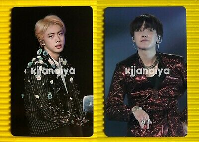 BTS Jin Suga Love Yourself in Seoul DVD Official Photocard ONLY
