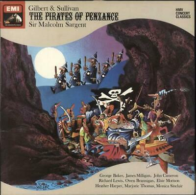 Gilbert & Sullivan The Pirates Of Penzance 2-LP vinyl record (Double Album) UK