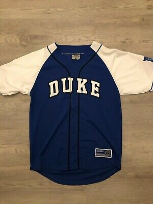the best attitude d10f5 0a277 DUKE BLUE DEVILS Baseball Jersey Mens Size Large Colosseum ...
