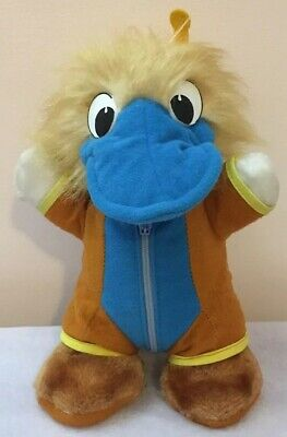 1988 World Expo Park Platypus Mascot Soft Plush Toy