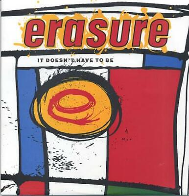 "Erasure It Doesn't Have To Be 12"" vinyl single record (Maxi) UK 12MUTE56 MUTE"