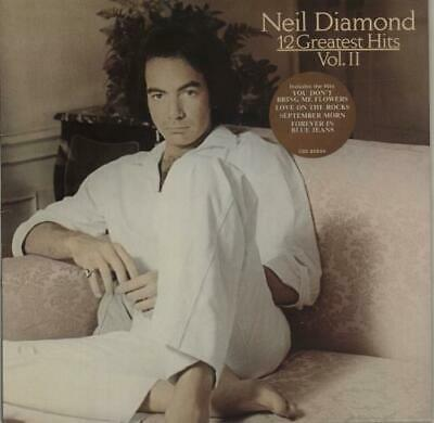 12 Greatest Hits Vol. II - 1st Neil Diamond vinyl LP album record UK 85844 CBS