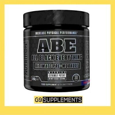 Applied Nutrition ABE All Black Everything Pre Workout 315g 30 Servings