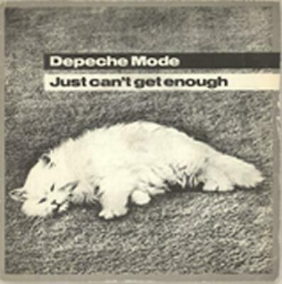 "Depeche Mode Just Can't Get Enough - Solid + P/S UK 7"" vinyl single record"