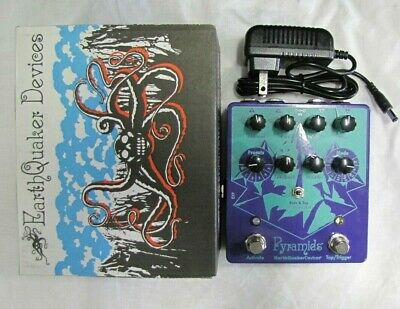 Earthquaker Devices Pyramids Stereo Flanging Device Guitar Pedal