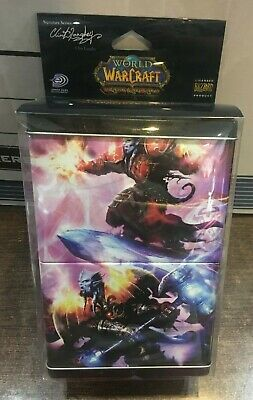 World of Warcraft TCG WOW Double tin Deck Box Signature series Clint Langley UD