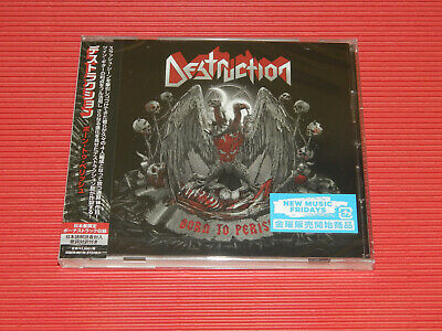 2019 Destruction Born To Perish With Bonus Track Japan Cd