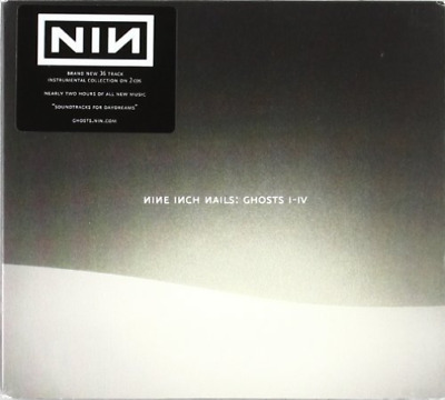 NINE INCH NAILS - Ghosts I-IV Deluxe Edition 2-CD, BLU-RAY