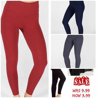 Ladies New Winter Warm  High Waist Tummy Control Thick  Fleece Legging Plus Size