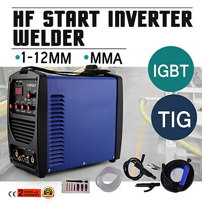 170A TIG MMA PULSE HF Inverter Welder Portable Safe 50/60HZ EXCELLENT HOT