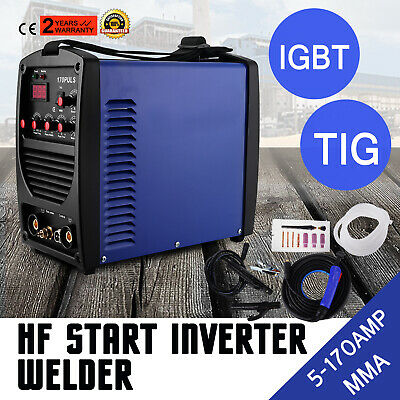 170A TIG MMA PULSE HF Inverter Welder Portable Safe MMA UTMOST IN CONVENIENCE