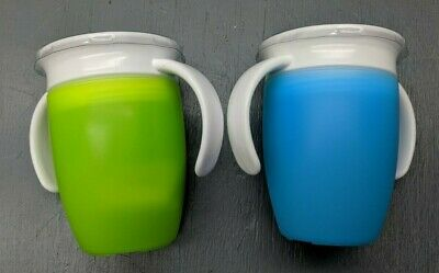 2 pack Trainer spill Proof Drink Mug Cup 7oz 360-Degree drink - free ship - 2D