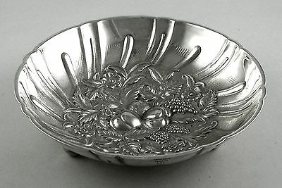 Sterling S. Kirk & Son GRAPEVINE 431 footed candy/nut dish