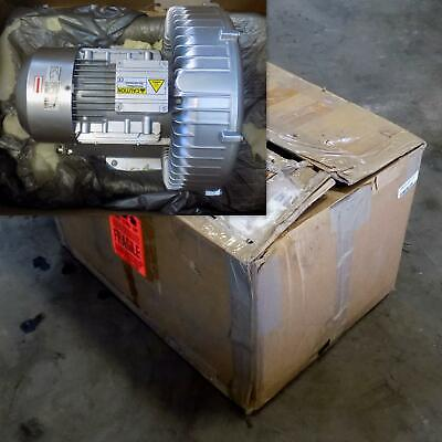 Airtech Vacuum 2.7Hp Regenerative Blower 3Ba1500-7At26