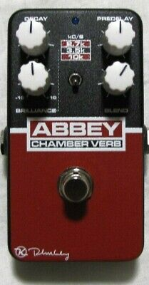 Used Keeley Abbey Chamber Verb Vintage Reverb Guitar Effects Pedal