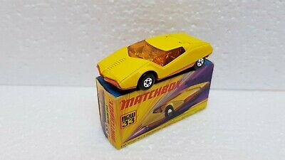 Matchbox Superfast no 30 8 Wheel Crane UNP. WITH 3 ribbed wheels