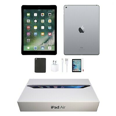 Apple iPad Air 2 | 9.7-inch, 16GB | Space Gray | Wi-Fi Only | Bundle | Open Box