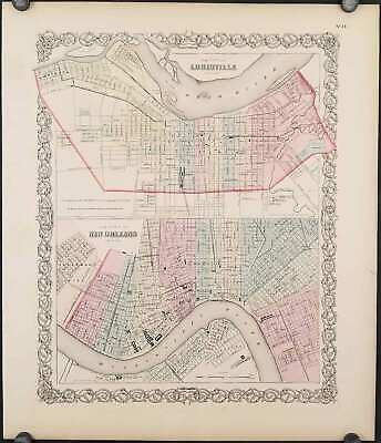 LOUISIANA NEW ORLEANS / / City of Louisville Kentucky The City of New Orleans