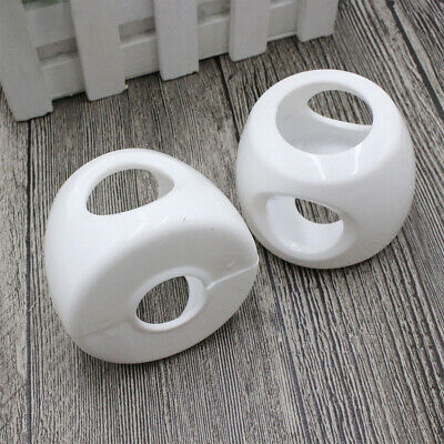 4PCS/Set Lockable Child Proof Baby Handle Bedroom Door Knob Cover Home Safety