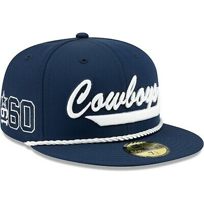 Dallas Cowboys 2019 NFL Sideline Home Official 59FIFTY 1960s Fitted Hat
