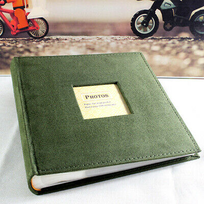 6inch 4R 200 Pages Travel Journal Slip In Cloth Cover Family Memory Photo Album